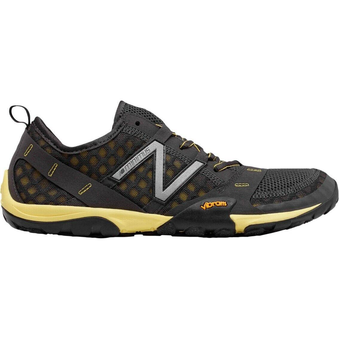 New Balance MT10 V1 Minimus Mens Gray/Yellow Trail Running S