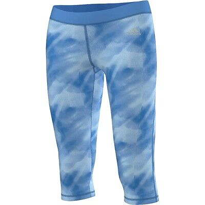 Adidas Womens Techfit 3/4 Capris Tie Dye Tights Save 33% Running Training  XL