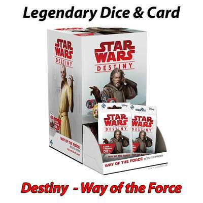 Star Wars Destiny - Way of the Force - Legendary Cards & Dice