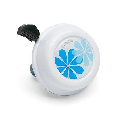 Electra Daisy Bell Blue, Fahrradklingel Weiß, Fahrrad Klingel, Glocke, Blume