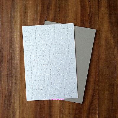 10pcs A4 Blank Sublimation Jigsaw Puzzle Sublimation Transfer White 10pcs