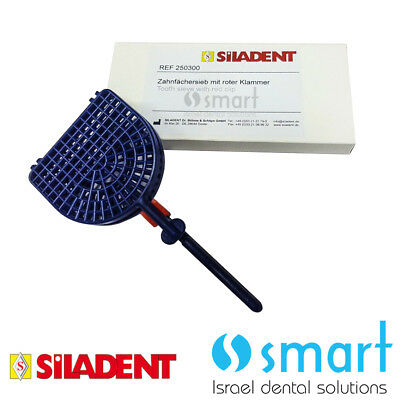 Dental Lab Perform Denture Tooth Sieve With Red Clamp Siladent Made In Germany