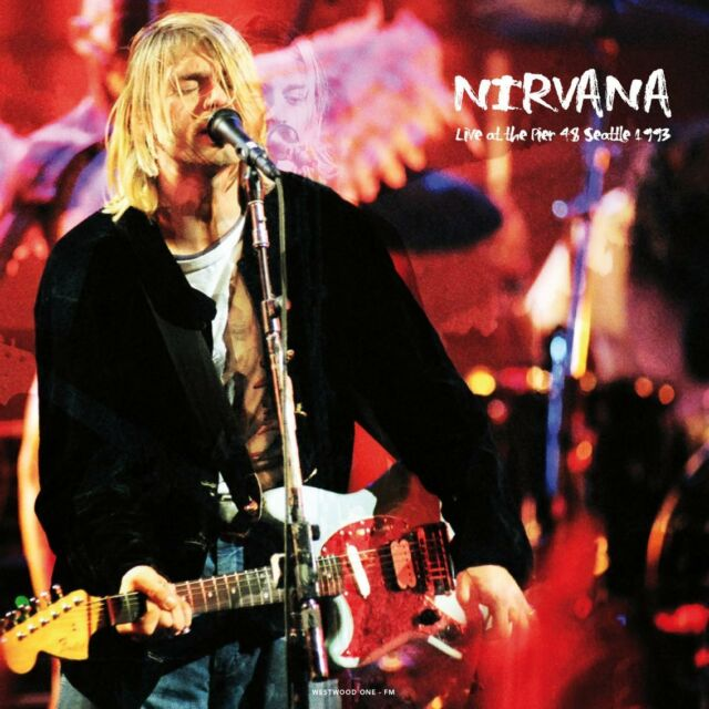 Nirvana - Live At The Pier 48, Seattle 1993 - 180gram Vinyl LP *NEW & SEALED*
