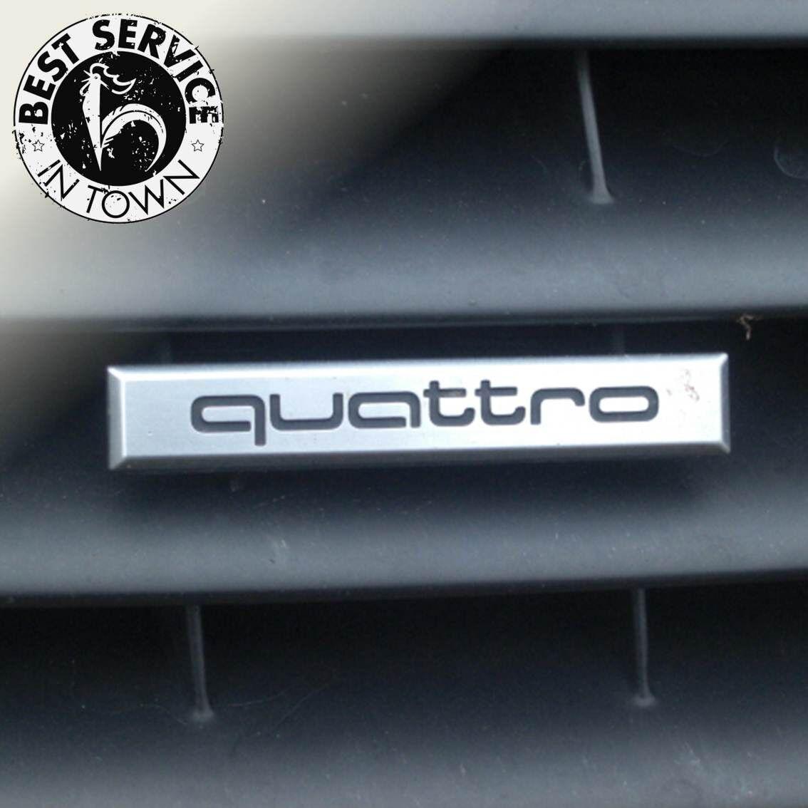 Original Audi A4 Schriftzug Quattro für Kühlergrill ab MJ 2013 8K0853736B