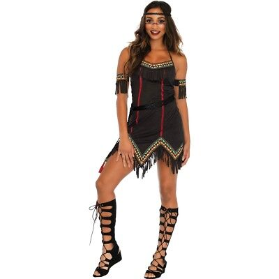 Tiger Lily Women's Halloween Costume, Native American Indian Womens Costume