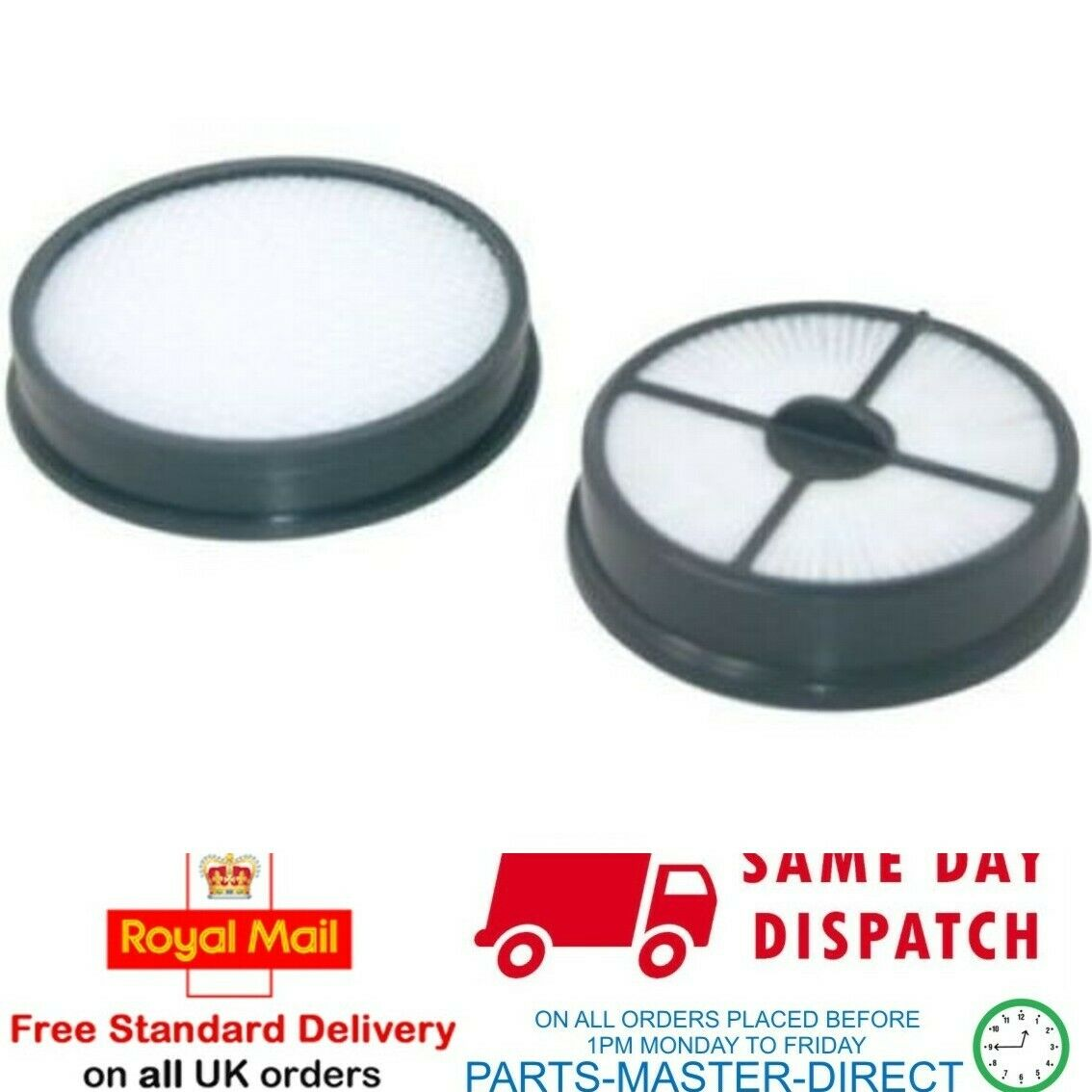 Pour Vax Air Pet U87 ma p type 27 Pré et Post Moteur Kit Filtre HEPA