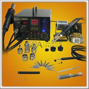 Aoyue 968A+ 4  in 1 Digital Hot Air Rework and Soldering Station -220V