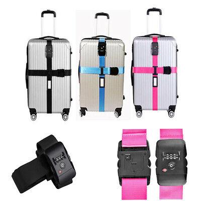 TSA zertifizierter Gepäckgurt Kofferband Reise Gurt Luggage Strap 5 cm x 400/430 (Tsa Gepäckgurt)