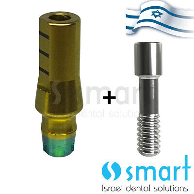 Dental Implant Straight Abutment Mis Conical V3 C1 Wp Fit Cementing Post B