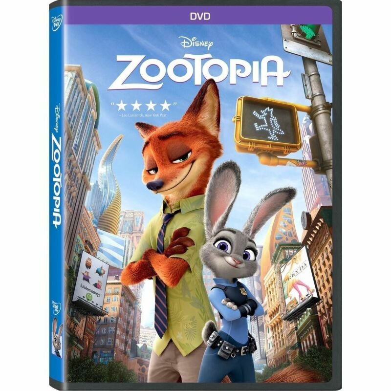 Zootopia (DVD, 2016) w/slipcover Free Shipping New