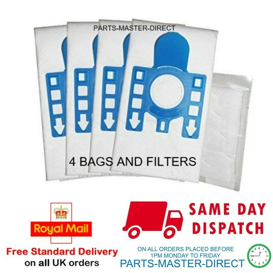 16 x MIELE GN Dust Bag Genuine Bags C2 C3 Cat /& Dog Silence Ecoline