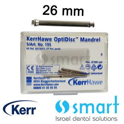 Dental Optidisc 5 Pcs Mandrel For Polishing Finishing Composite Discs Kerr