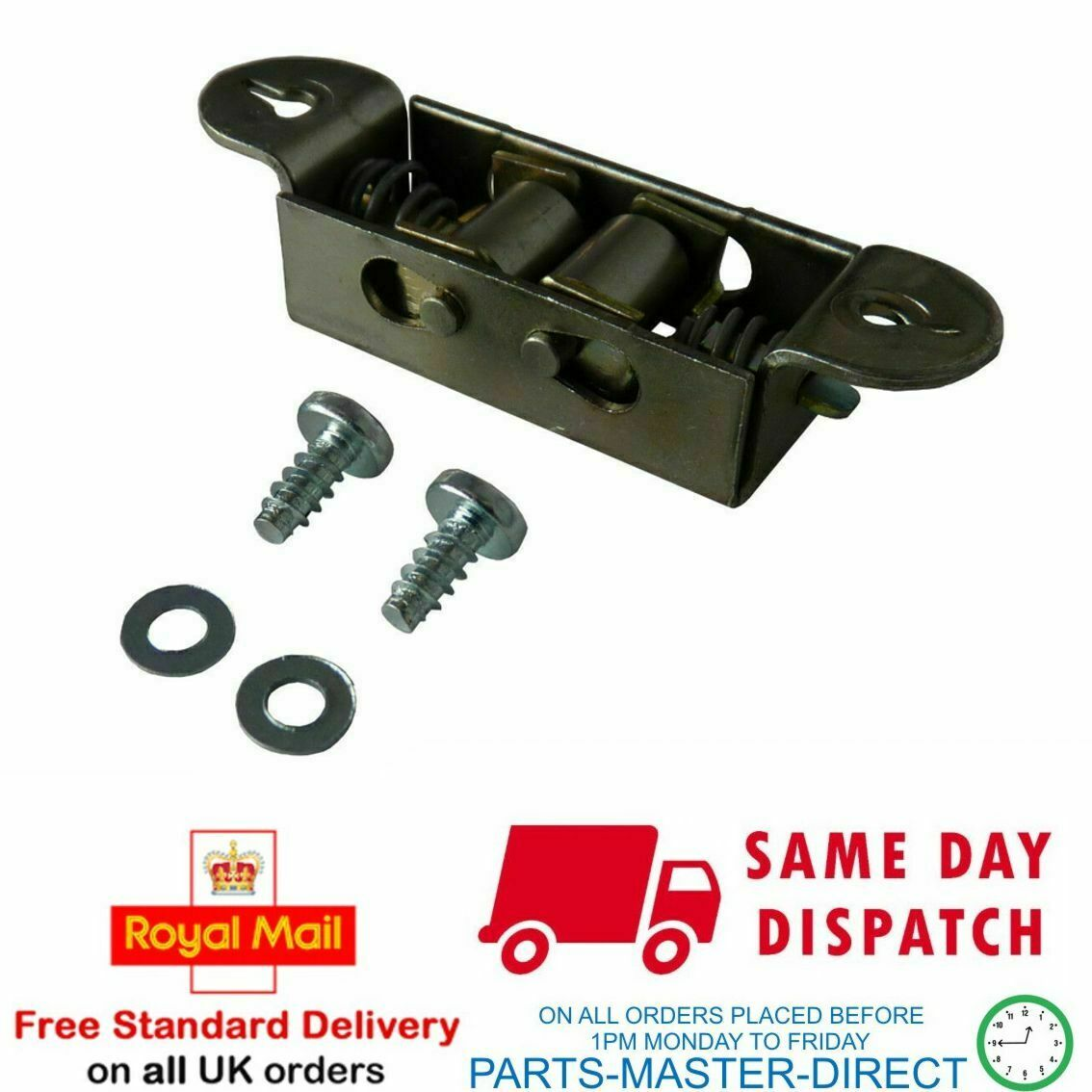 kd6c35w T High Quality Oven//Cooker Roller Door Catch Kit for INDESIT kd6c35w