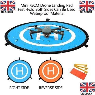 75CM Drone Landing Pad Foldable Mat for RC Helicopter PVB DJI Mavic Phantom 4/3