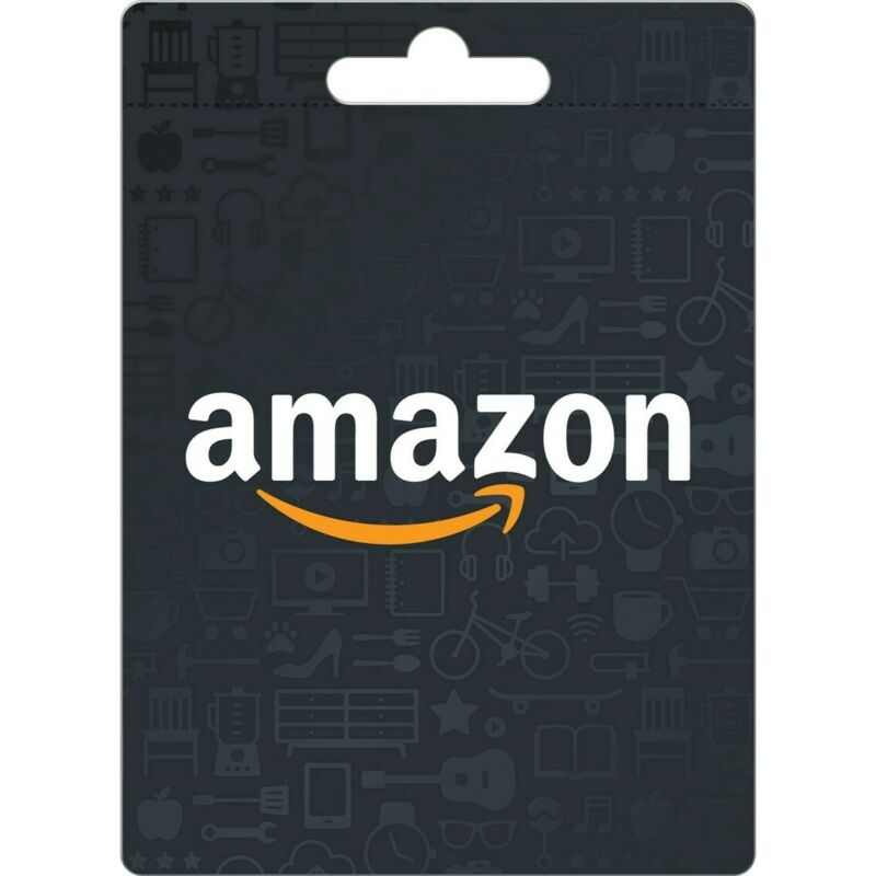 amazon gift card $50value new unscratched fast shipping