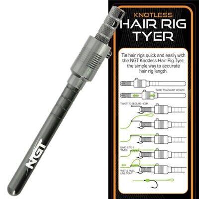 NGT HAIR RIG HOOK TYING TYER TOOL CARP FISHING TACKLE BRAID HAIR RIGS POPS UPS