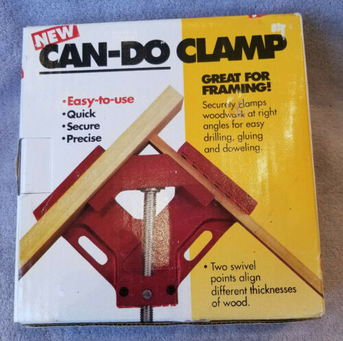 Can-Do Clamp Angle Clamps Hand Tools Home Improvement Carpentry Welding Framing
