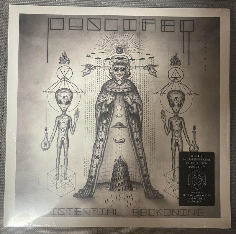Puscifer Existential Reckoning - New High Dispersion Gold Sealed Vinyl LP