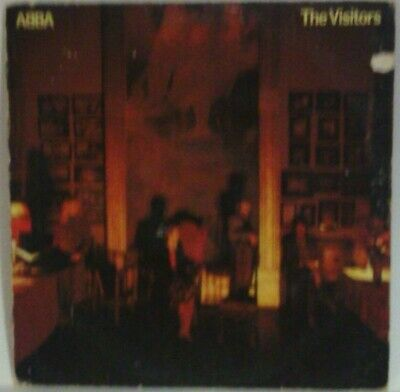 ABBA The Visitors LP Ex+ 1981 Atlantic SD 19332