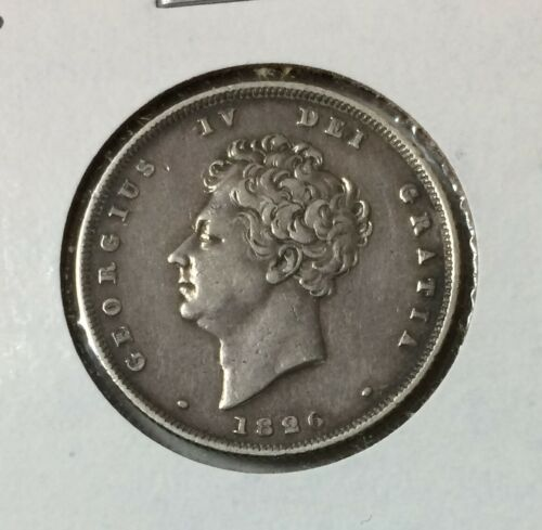 1826 Great Britain 1 Shilling King George IV.