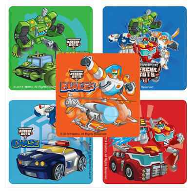 Rescue Bots Party Favors (25 Transformers Rescue Bots Stickers, 2.5