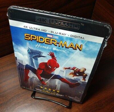 Mens Homecoming (Spider-Man: Homecoming (4K UHD+Blu-ray+HD Digital)NEW-Free Shipping with)