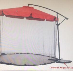 Brand new outdoor umbrella price negotiable