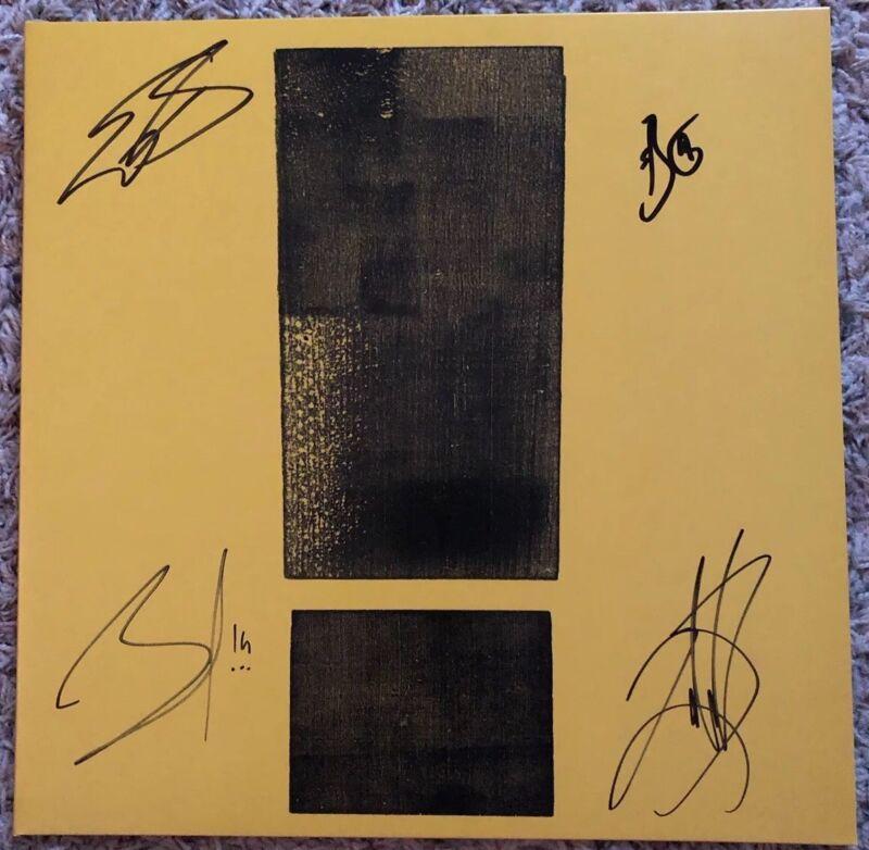 SHINEDOWN Attention Vinyl LP Bundle AUTOGRAPHED  New SIGNED