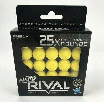 Nerf Rival 25X High-Impact rounds Balls Rival Precision Battling