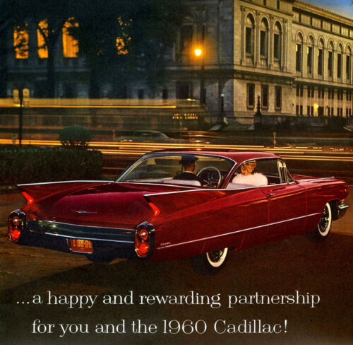 1960 Cadillac Coupe Deville, Refrigerator Magnet, 40 MIL