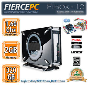 Fierce Fibox-10 Mini ITX Home Theatre PC | AMD Dual Core 1.60Ghz HDMI HTPC