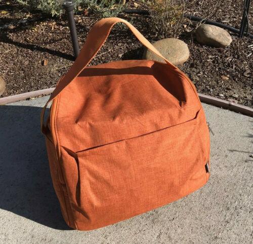 Stokke Xplory Crusi Stroller Shopping Bag Basket Diaper Orange