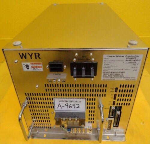 Nikon 4S587-470-3 Linear Motor Controller SPA452B WYR NSR-S307E DUV Used Working