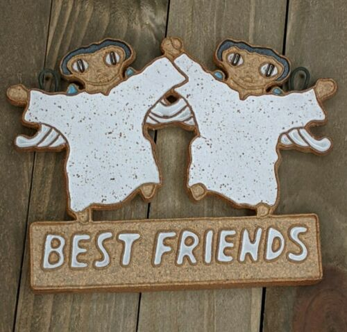St Andrews Abbey Handmade Christmas Angel Ornament : Best Friends