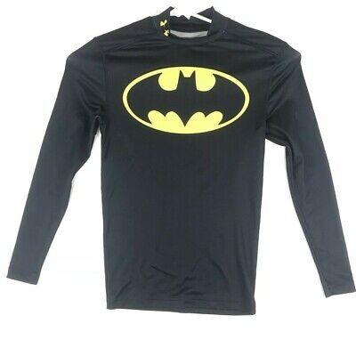 UNDER ARMOUR MENS M BATMAN alter ego COLD GEAR LONG SLEEVE COMPRESSION
