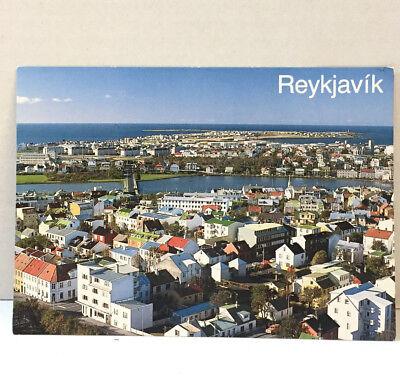 Vintage Reykjavik Iceland Unposted Postcard c. 50's-60's