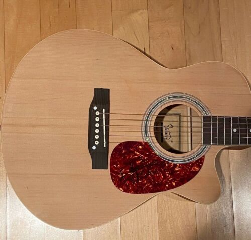 * VINCE GILL & AMY GRANT * signed acoustic guitar *  COA * 1