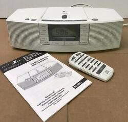 Zenith Z2020W Stereo AM/FM CD Player Alarm Clock Radio W/ Remote