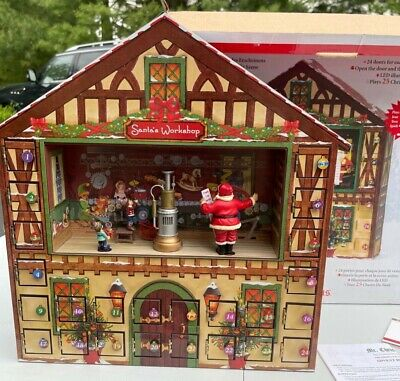Mr. Christmas Advent Calendar Excellent Works Great with original box