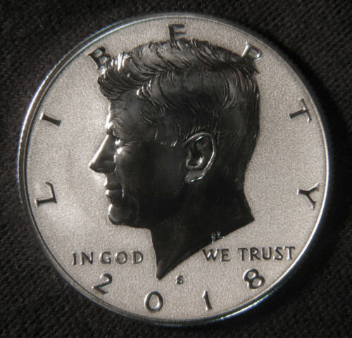 2018-S Reverse Proof Silver Kennedy Half 18XC * Ships FREE *