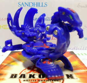 Bakugan Lumagrowl Blue Aquos Gundalian Invaders DNA 700G