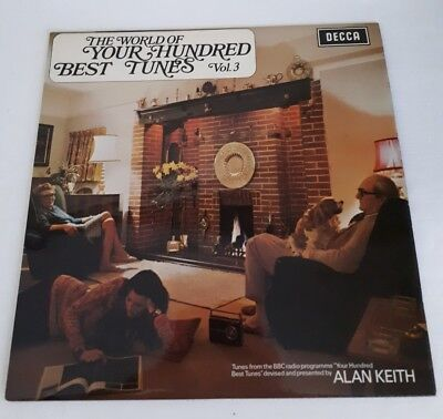 THE WORLD OF YOUR HUNDRED BEST TUNES VOL.3 ALAN KEITH  LP VINYL