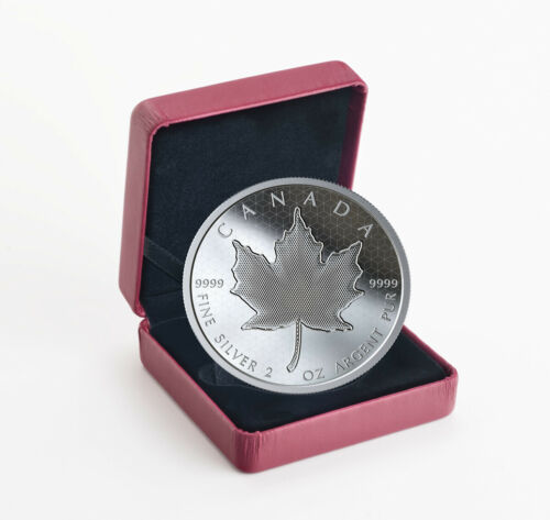 2020 Canada 2 oz Silver Pulsating Maple Leaf Proof $10 Coin GEM Proof SKU59155