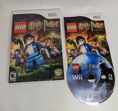 LEGO Harry Potter: Years 1-4 And 5-7 (Nintendo Wii, 2010) COMPLETE a+ condition