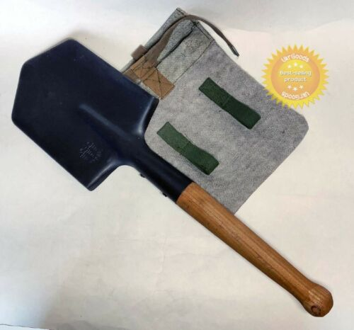 Infantry Army Sapper Shovel + Case Original Soveit USSR Military MPL-50 Small