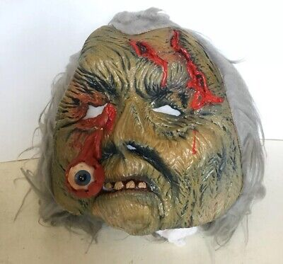 Extremely RARE Original VTG 70s Be Something Studios Mask Monster Eye Halloween](70's Halloween Masks)