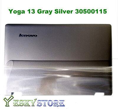 New/orig Lenovo Ideapad Yoga 13 Lcd Rear Back Cover Silve...