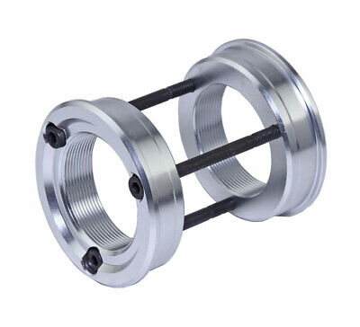 Euro to American aluminum alloy Bicycle Bottom Bracket Adapter SILVER ANODIZED