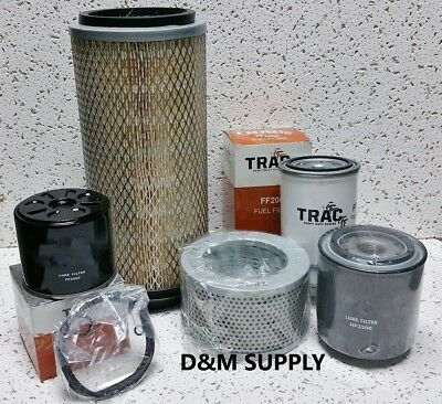 Ih International Tractor Maintenance Service Filter Kit 484 574 584 674 684 784