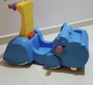 Fisher price ride on toy hippo trotteur marchette
